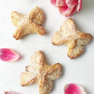 Farmers Cheese Butterfly Cookies