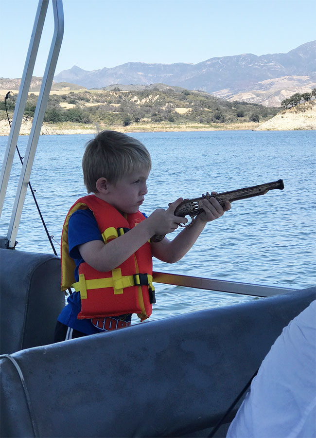 Our experience camping with the kids at lake cachuma for Lake cachuma fishing report
