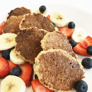 Oatmeal Apple Pancakes