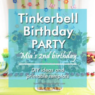 Tinkerbell Birthday Party – Mia's 2nd Birthday