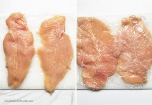 Chicken Breast with Mozzarella Cheese
