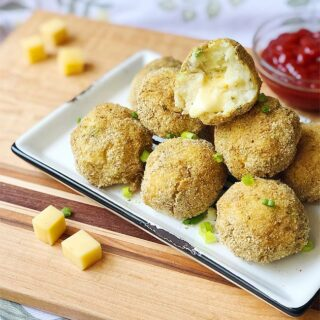 Cheese Stuffed Mashed Potato Balls